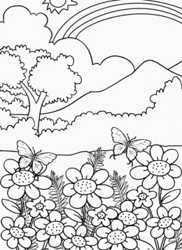 Nature Coloring Pages Online Printable nhywg
