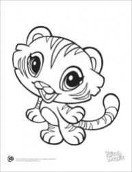 Online Baby Animal Coloring Pages 78742