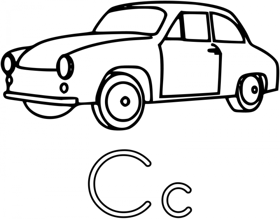 Online Car Coloring Page   88361