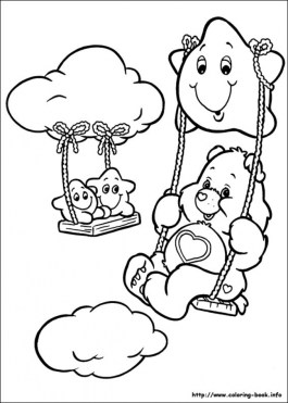 Online Care Bear Coloring Pages to Print swsyq
