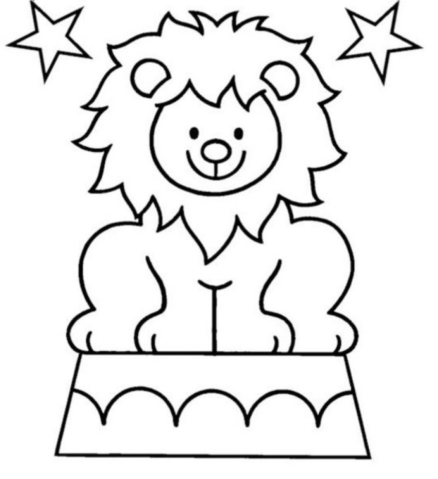 Online Circus Coloring Pages   78742