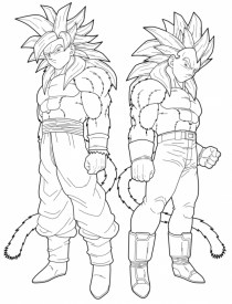 Online DBZ Coloring Pages 78742