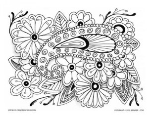 Online Grown Up Coloring Pages 37425