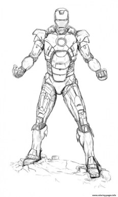 Online Ironman Coloring Pages 88275