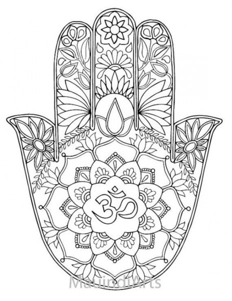 Online Mandala Coloring Pages For Adults 34136