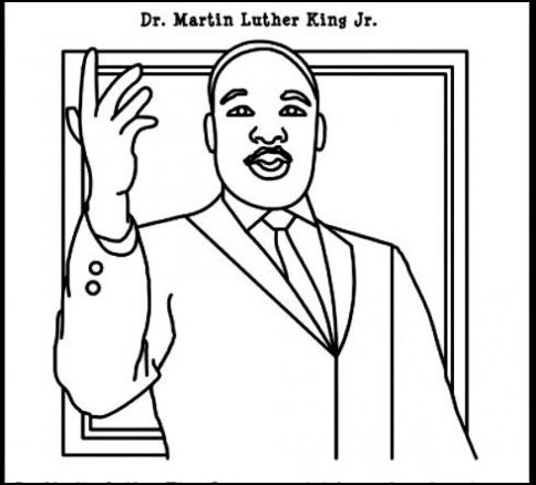 20 Free Printable Martin Luther King Jr Coloring Pages Everfreecoloring Com
