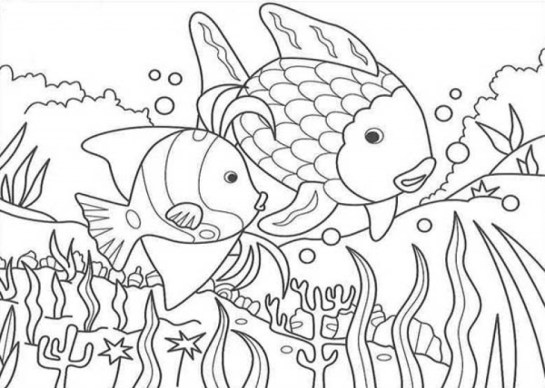 Online Nature Coloring Pages to Print swsyq