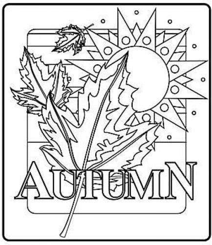 Online Printable Fall Coloring Pages rczoz