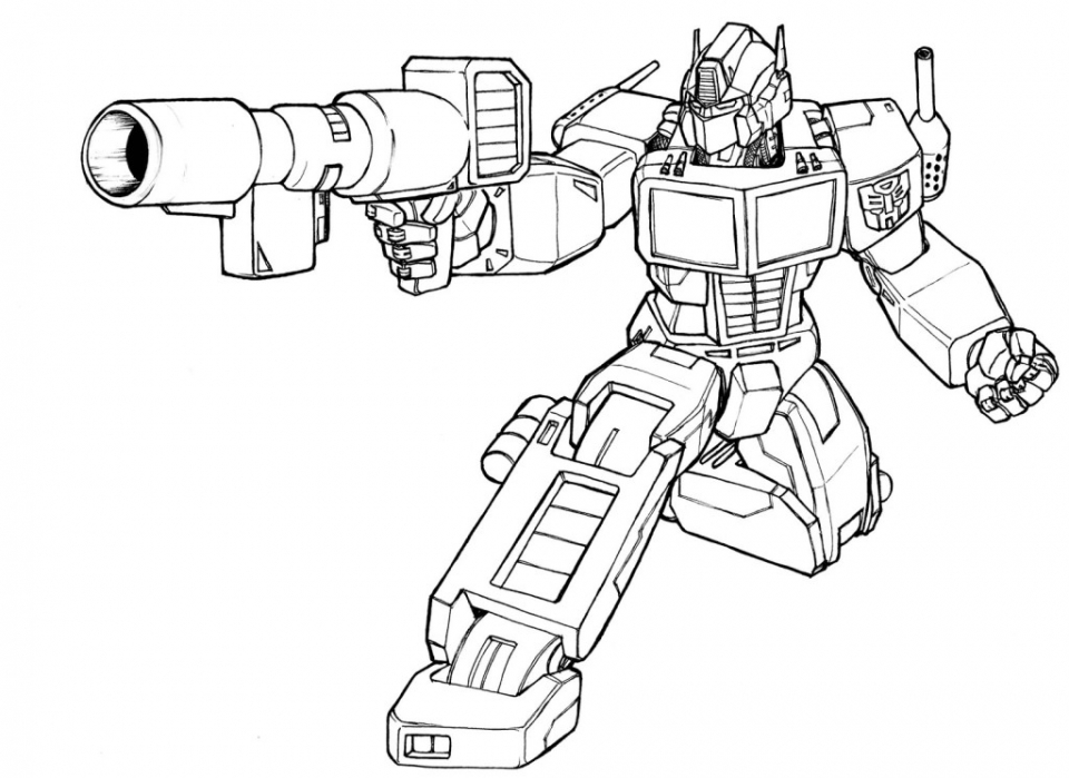 20+ Free Printable Optimus Prime Coloring Page - EverFreeColoring.com