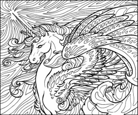 Online Unicorn Coloring Pages 78742