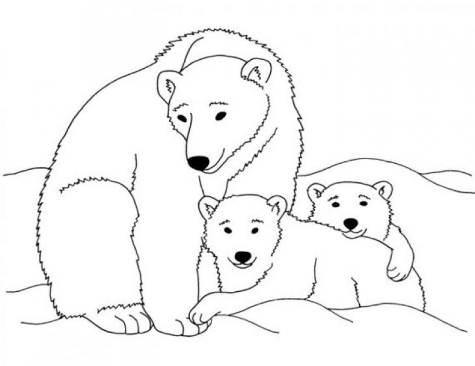 Cute Polar Bears Holding Christmas Wreath With Hand Drawn Typo ... | 740x960