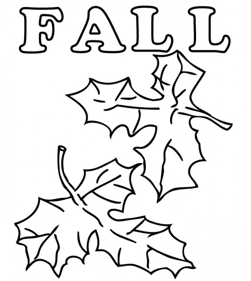 Preschool Fall Coloring Pages to Print   nob6i