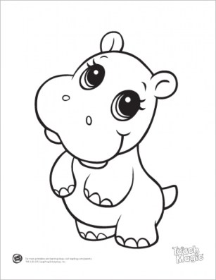 Printable Baby Animal Coloring Pages Online 64038