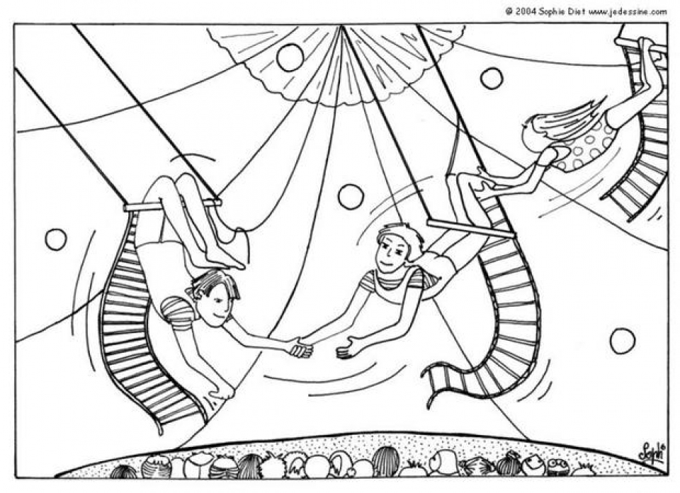 Get This Printable Circus Coloring Pages 63679
