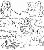 Printable Coloring Pages Pokemon Online 34394