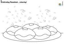 Printable Image of Hanukkah Coloring Pages UpIuI