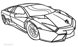 Printable Lamborghini Coloring Pages 73400