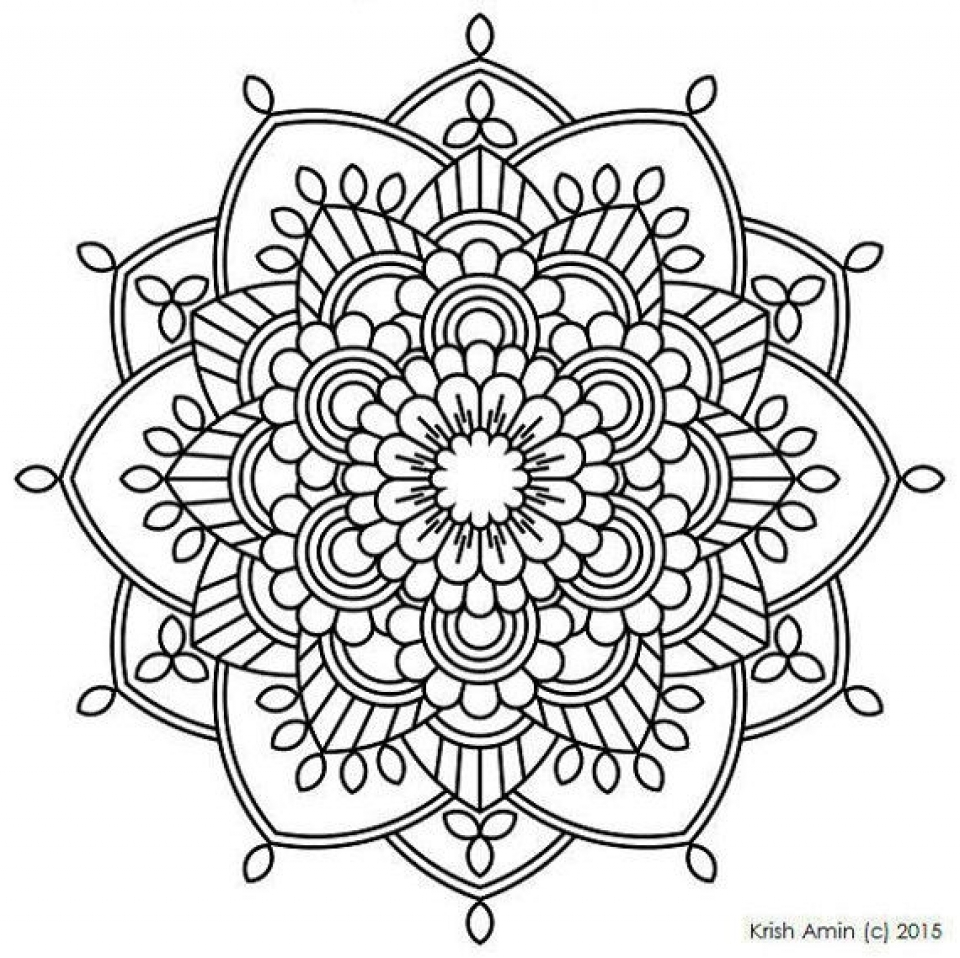 - Get This Printable Mandala Coloring Pages For Adults Online 32651 !