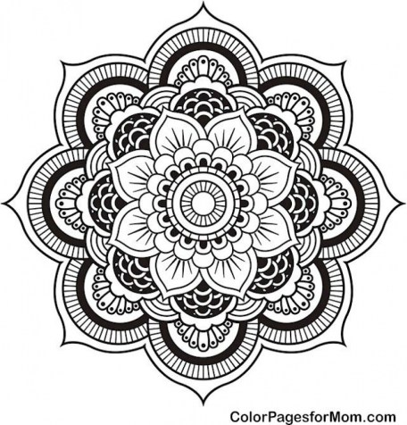 Printable Mandala Coloring Pages For Adults Online 91296