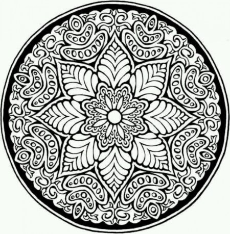 Printable Mosaic Coloring Pages 84618