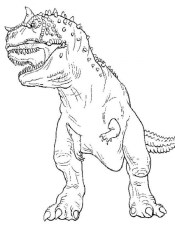 Printable T Rex Coloring Pages Online 85256