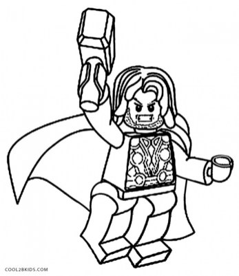 Printable Thor Coloring Pages 29255