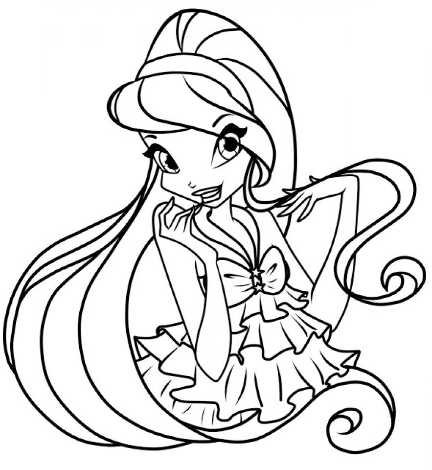 Printable Winx Club Coloring Pages for Kids   5prtr