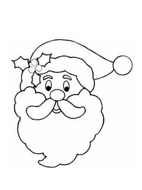 Santa Coloring Page Free Printable 42032