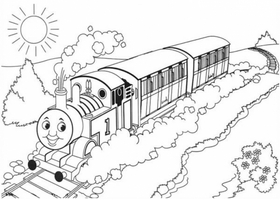 Thomas And Friends Coloring Pages Free for Kids   6Ir1n