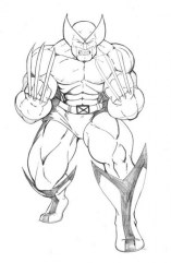 Wolverine Coloring Pages Free for Kids 6Ir1n