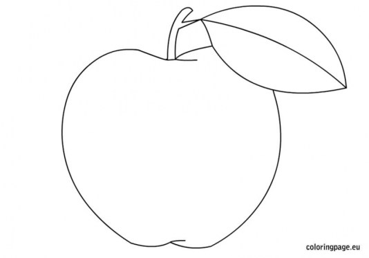 Apple Coloring Pages Free Printable q8ix11