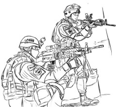 Army Coloring Pages Free Printable u043e