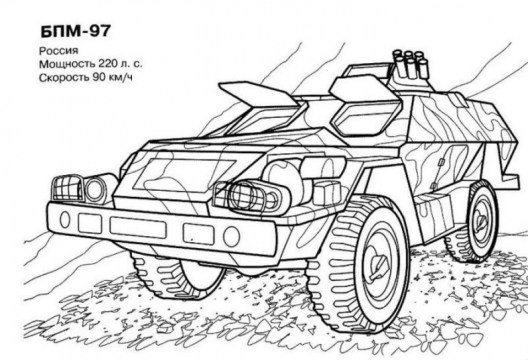 Army Tank Coloring Pages Free Printable 24578