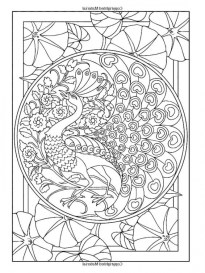 Art Deco Patterns Coloring Pages for Grown Ups 89dd3