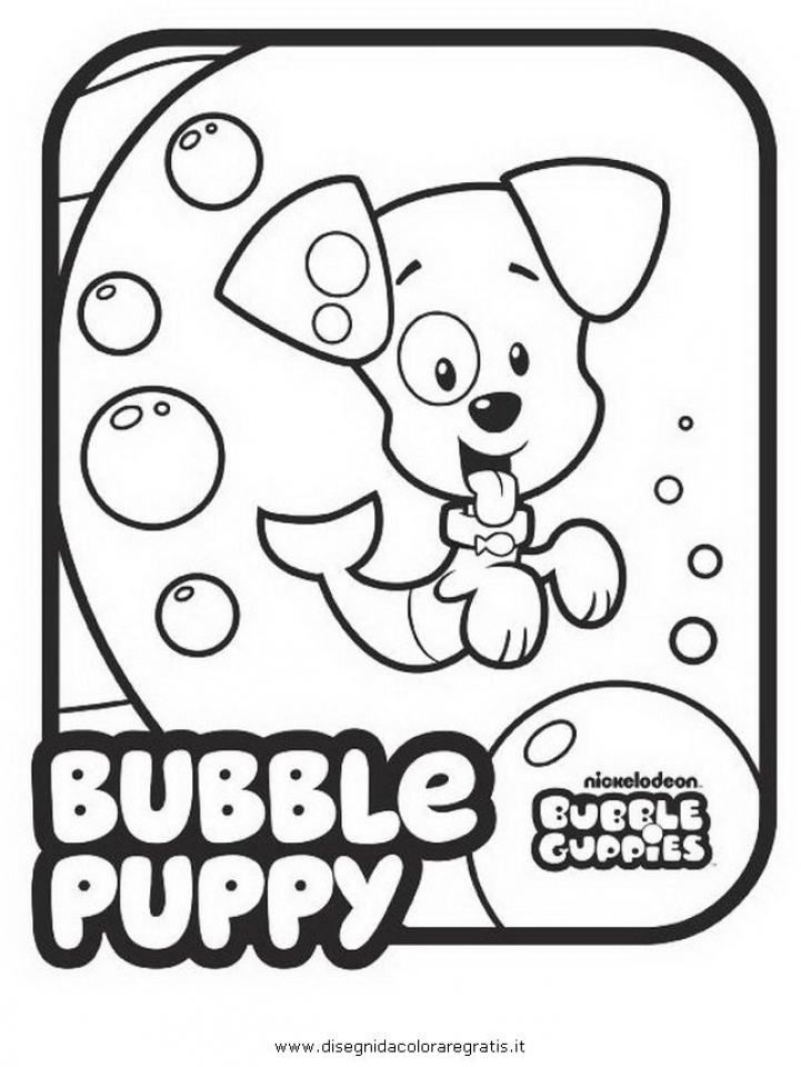 Bubble Guppies Coloring Pages Free Printable   434402