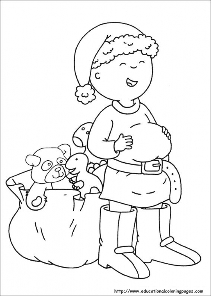 Caillou Coloring Pages Free Printable   q8ix23