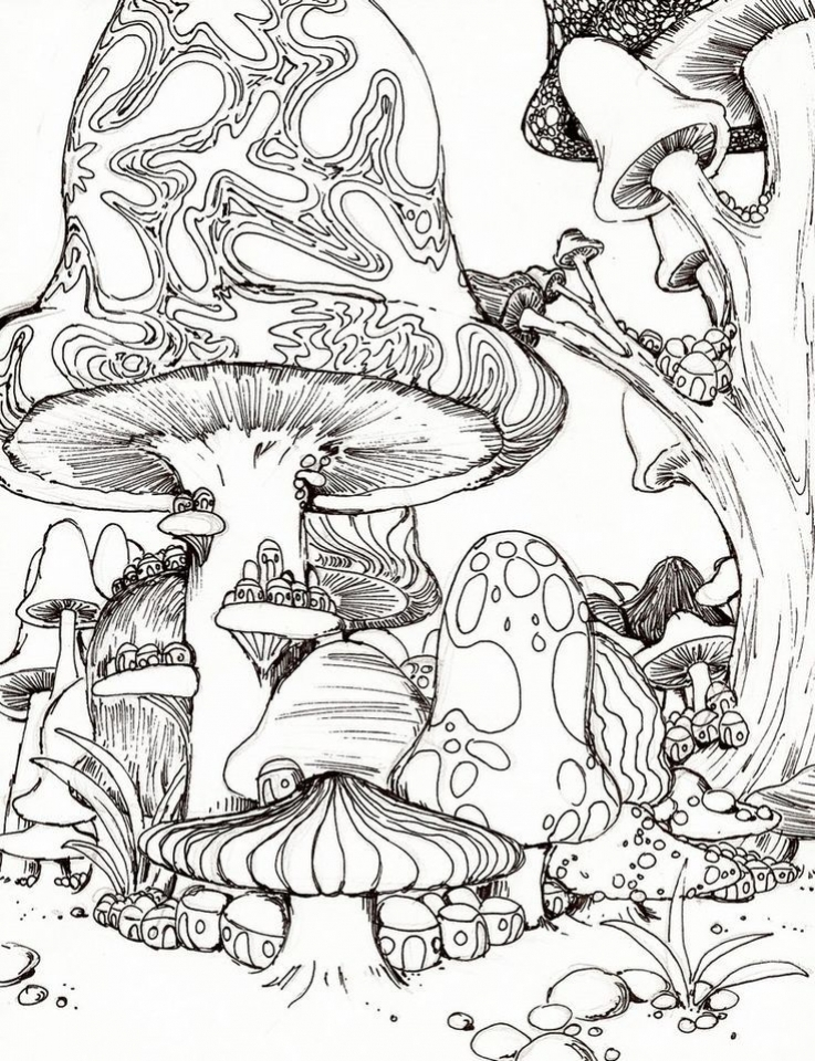 get this challenging trippy coloring pages for adults o4bh6