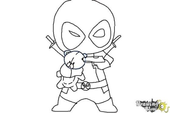 Deadpool Coloring Pages Free Printable 595981