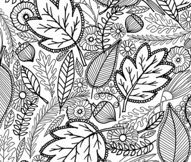 Get This Fall Coloring Pages For Adults T