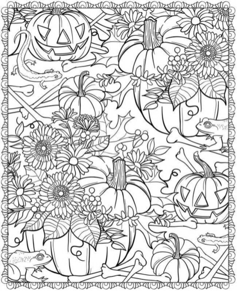 Fall Coloring Pages for Adults 99h12x