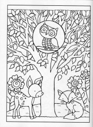Fall Coloring Pages for Grown Ups Free Printable 4c9n1
