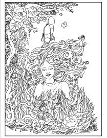 Free Complex Coloring Pages Printable ERT2B