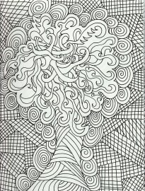 Free Complex Coloring Pages Printable ZMRV4