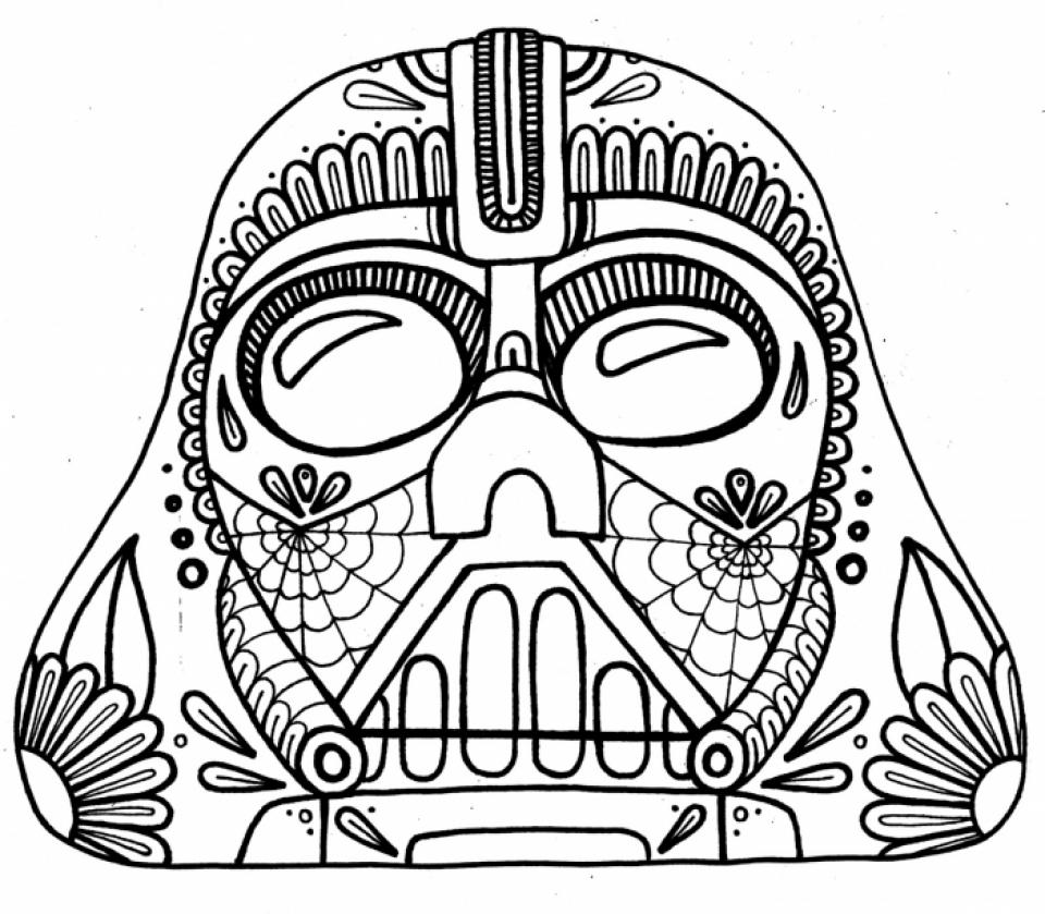 Free Dia De Los Muertos Coloring Pages to Print   t29m10