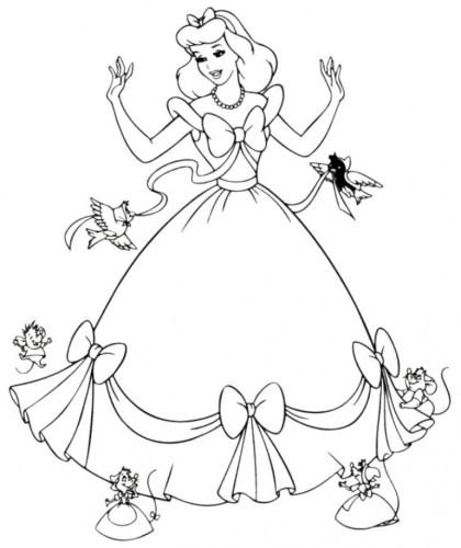 Free Disney Princess Coloring Pages 834917