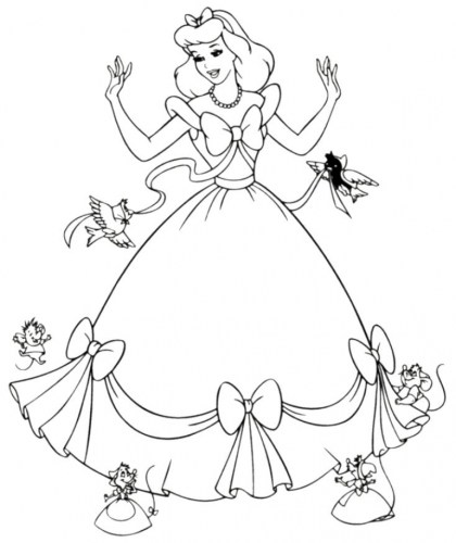 Pics Photos Disney Characters Coloring Pages Christmas - Best ... | 500x420