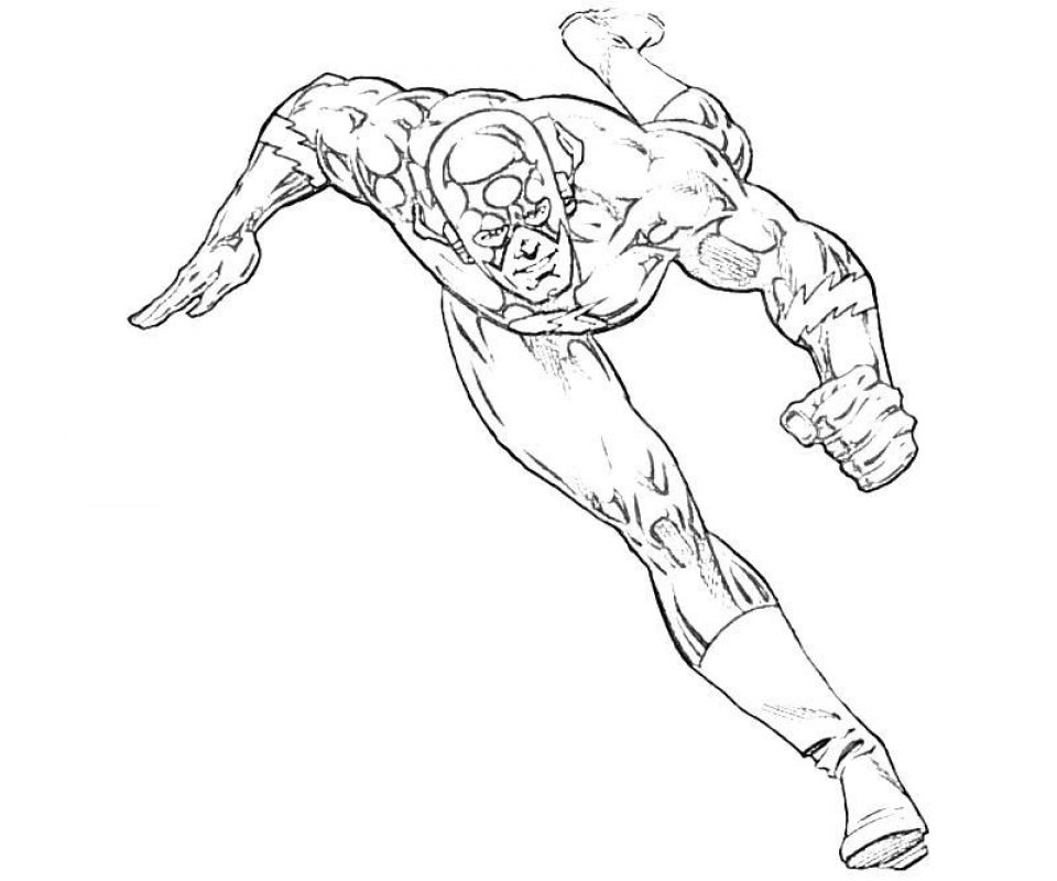 Free Flash Coloring Pages   9tf1q