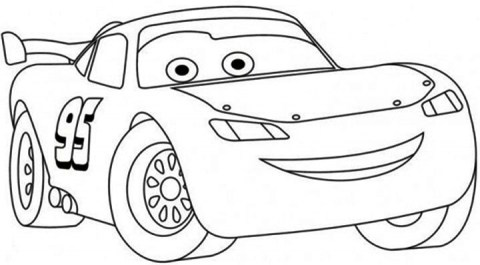 Free Lightning McQueen Coloring Pages 119159
