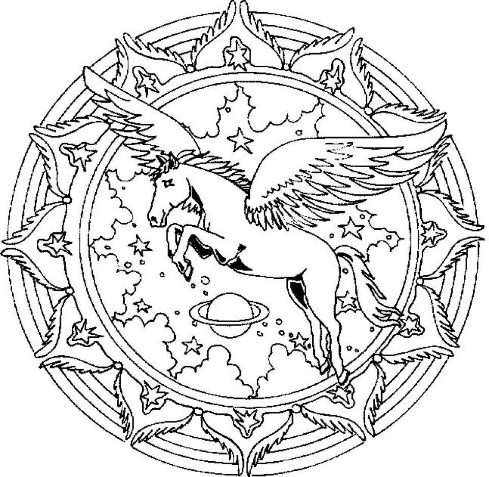 - Get This Free Printable Unicorn Coloring Pages For Adults VT739 !