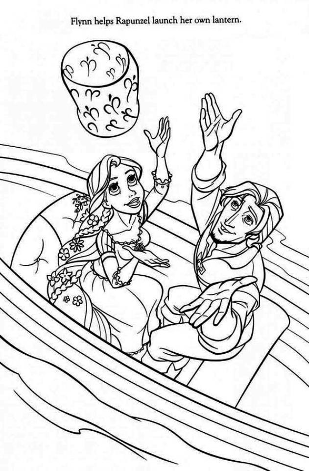 Free Rapunzel Coloring Pages to Print Disney Princess   F7V93